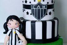 Gâteaux football