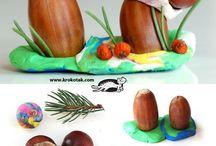 houby a jiné