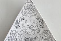 üçgen tabak