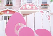 Hello kitty houses / by Kitty White