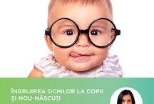 Articole / Informații despre cum să ai grijă de ochii tăi și a celor dragi