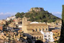 Ruta por la Girona Medieval(Begur) / Begur Medieval sus calles y monumentos Medievales