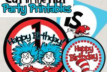 Dr. Seuss Party! / by Michelle Newhook