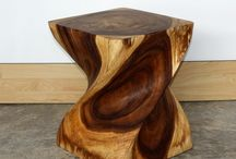 Twisted end table