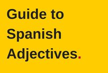 Spanish Adjectives Resources