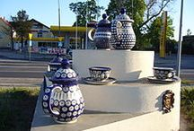The Pottery Factories / Pottery-making in Boleslawiec, Poland / by It's Polish Pottery!