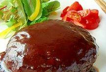 ハンバーグ レシピ