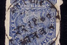 India -Dhar Stamps