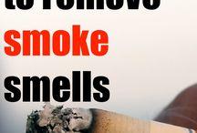 Get rid of cigarettes smells