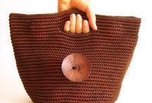 knit/crochet borse
