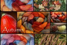 Ullmaana / Hand dyed yarn and wool beautys