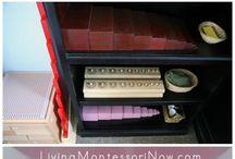 Montessori shelves