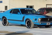 1970 MUSTANG BOSS 302-SUPERCHARGED