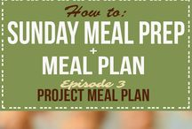 Weekly Meal Plans / Weekly Meal Plans by Project Meal Plan!! With step-by-step Sunday Meal Prep instructions, shopping list and new recipes every week!!