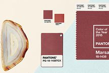 Marsala 18-1438 / Since Mark showed a little love to Pantone's Color of the year in his #ColorForecast blog post (http://redsageonline.com/blog/item/2015-fresh-color-forecast), we fell in love with it. This board honors Marsala 18-1438.