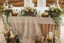 Декор столов