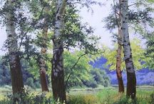 realistic paysage