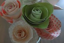 Paper flowers / by Jacque Estill Summers