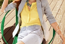 Springtime Brights / Warmer weather must be on it's way soon. Let's look at some bright trends for spring!