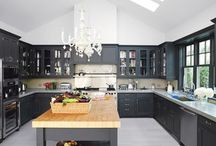 We're redoing a kitchen... ideas!  / by Siobhan Koch