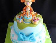 cake winnie tigrou et cie
