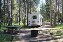 Camp for free in the US with a RV / Free o cheap place where camp with a RV