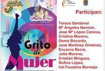 FESTIVAL INTERNACIONAL DE POESÍA GRITO DE MUJER EN MOLINA DE SEGURA.