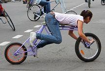 Cyklar och farliga kurvor