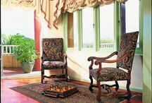 Traditional Interiors / How a hand made persian carpet can tie a room together.