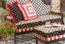 Mackenzie-Childs / Awe-inspiring, luxurious, enchanting! An American iconic brand for you home.
