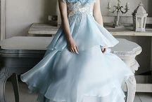 Something blue wedding inspiration / by Lori Barbely