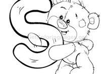 lettre teddy bear