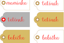 Gift tags / What I created for my friends...