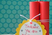 Teacher Gifts / by Vickie Dean