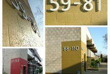 Naamborden & Huisnummers / Wij snijden deze naamborden op maat!