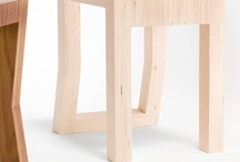 Kink Stool / http://earlpinto.com.au/furniture/kink-stool/
