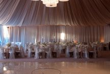 Tent Lighting and Draping