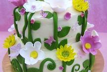 Ciasta z kwiatami