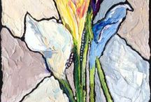 my paintings - florals / by carrie jacobson