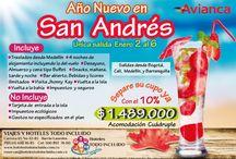 Planes en San Andrés