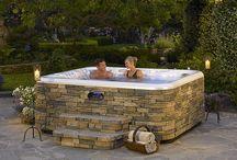 Backyard Spa Ideas / by Brian Channell