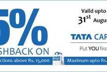 Bank offers / get latest bank offers on shopping & travel and get cashback from various banks in india