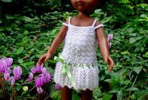 Vos réalisations des modèles de mon livre / Vos réalisations d'après les modèles de mon livre : Le dressing de ma poupée