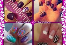 Creative Nails / Nail designs for the woman on the go. / by Katrina Dixon-Parker