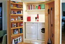 laundry room/ closet