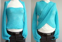 Sweaters, Shrugs and Snugly Things / Hand knit sweaters, cardigans, shrugs to keep you warm.