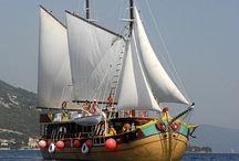 Plavby po Jadranu - Střední trasa