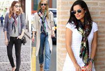 Diferentes maneras d3 llevar un pañuelo