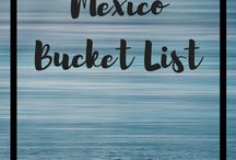 Mexico / Mayan ruins, colonial-era towns and awesome scuba diving spots. We cannot wait to visit Mexico. Bring on the tequila!
