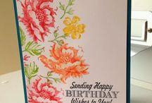 Card - SU stippled blossom